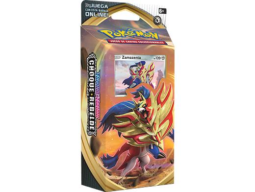 Mazo Pokémon TCG Choque Rebelde - Zamazenta