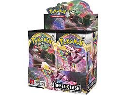 Display sobres Pokémon TCG Rebel Clash