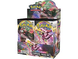 Display sobres Pokémon TCG Choque Rebelde