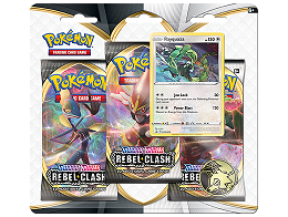 Pokémon TCG 3-Pack Rebel Clash Rayquaza