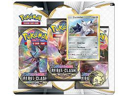 Pokémon TCG 3-Pack Rebel Clash Duraludon
