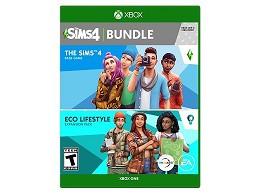 The Sims 4 Plus Eco Lifestyle Bundle XBOX ONE