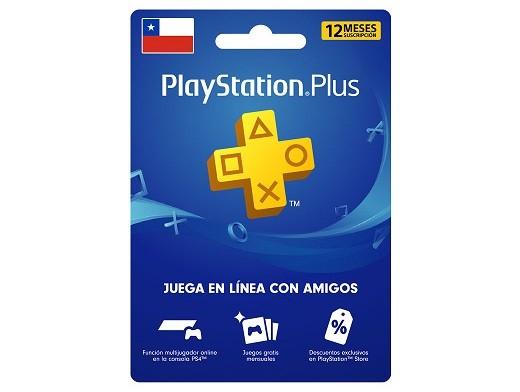 Tarjeta PSN PlayStation Plus 1 Año Chile (DIGITAL)