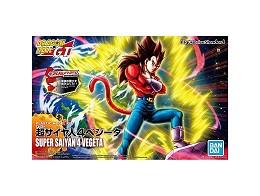 Model Kit Vegeta Super Saiyan 4 Bandai Rise std