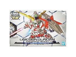 Model Kit Gundam Unicorn 13 Destroy Mode SDGCS