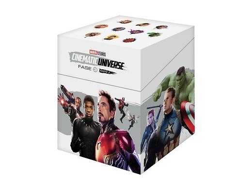 Pack Marvel Cinematic Universe Fase 3.2 Blu-ray