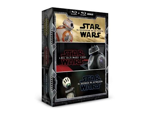 Pack Star Wars nueva trilogía (Episodios 7 al 9)