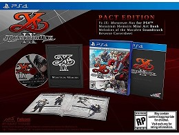 Ys IX: Monstrum Nox Pact Edition PS4