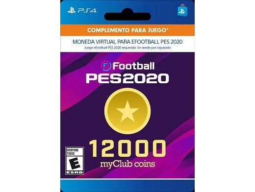 eFootball PES2020 12000 myClub Coins PS4 (DIGITAL)