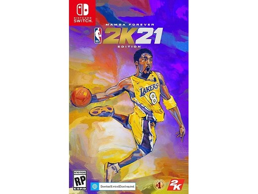 NBA 2K21 Mamba Forever Edition NSW