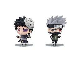 Set figuras Naruto: Hatake Kakashi & Uchiha Obito