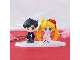 Set Figuras Sailor Moon Happy Wedding Japanese Ver