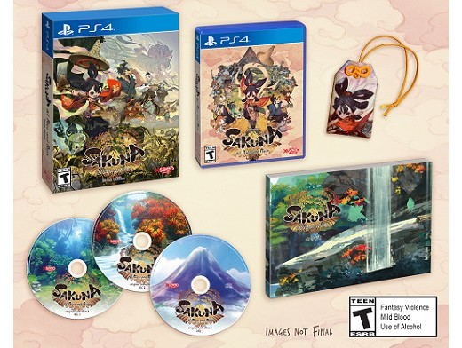 Sakuna: Of Rice and Ruin Divine Edition PS4