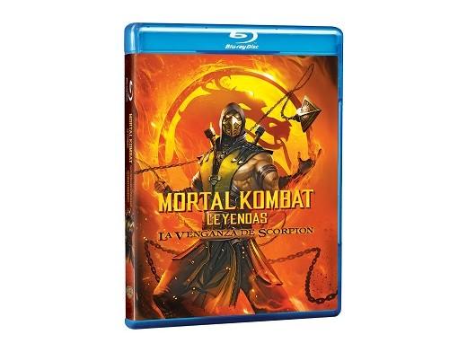 MK Leyendas Venganza de Scorpion Blu-Ray (latino)