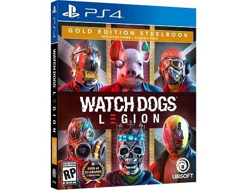 Watch Dogs: Legion Gold Edition PS4