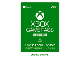 Xbox Game Pass 3 meses (DIGITAL)