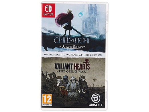 Child of Light & Valiant Hearts Double Pack NSW