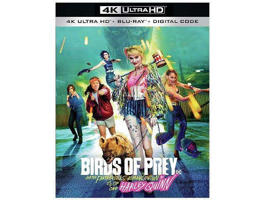 Aves de Presa Blu-Ray 4K (latino)