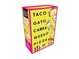 Taco Gato Cabra Queso Pizza - Juego de mesa
