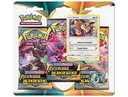 Pokémon TCG 3-Pack Oscuridad Incandescente Eevee