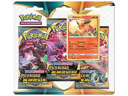 Pokémon TCG 3-Pack Oscuridad Incandescente Flareon