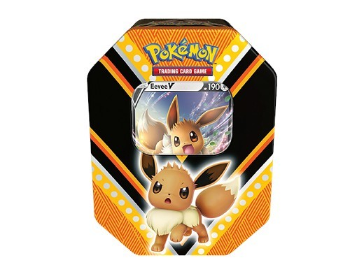 Pokémon TCG: V Powers Tin Eevee V (Español)