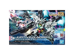 Model Kit Jupitive Gundam Build DiVERS:R HG