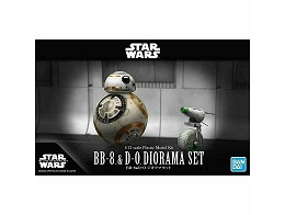 Model Kit Star Wars BB-8 & D-0 Diorama Set