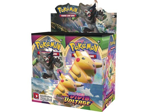 Display sobres Pokémon TCG Vivid Voltage