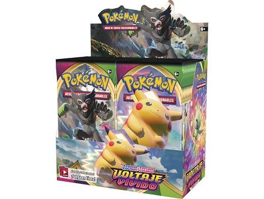 Display sobres Pokémon TCG Voltaje Vívido
