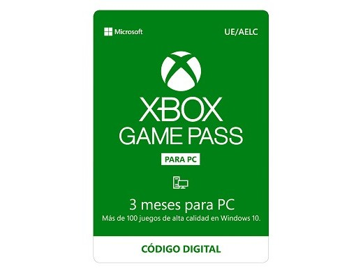 Xbox Game Pass para PC 3 meses (DIGITAL)