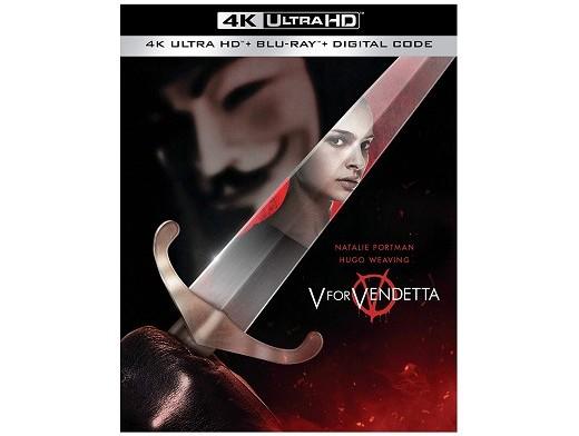 V for Vendetta 4K Blu-Ray
