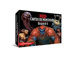 D&D Cartas de Monstruos: Desafío 0 - 5