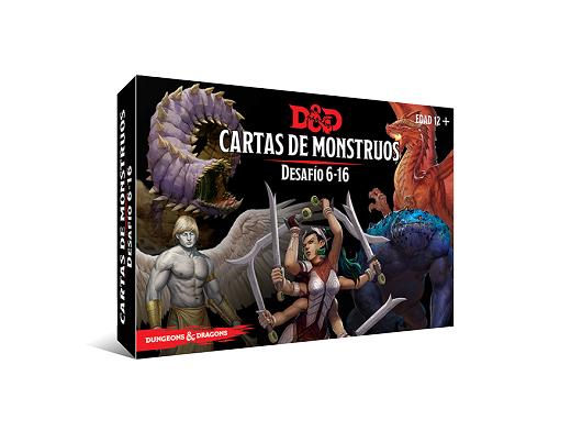 D&D Cartas de Monstruos: Desafío 6 - 16