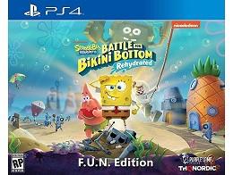 Spongebob: BFBB - Rehydrated FUN Ed PS4