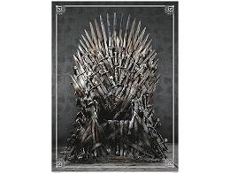 Rompecabezas GoT Iron Throne Deluxe 1000 piezas