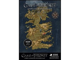 Rompecabezas GoT Westeros Map Deluxe 1000 piezas