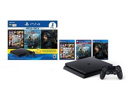 PlayStation 4 1TB Mega 13 GTAV-GOW-Death Stranding