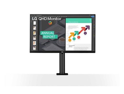Monitor LG 27'' QHD (2560x1440) IPS
