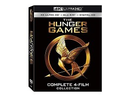 Hunger Games Complete Collection 4K Blu-Ray