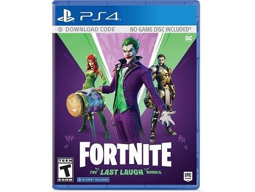 Fortnite: The Last Laugh Bundle PS4