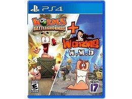 Worms Battlegrounds + Worms W.M.D. PS4
