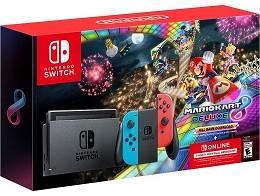 Nintendo Switch Caja Roja + Mario Kart 8 + 3 meses