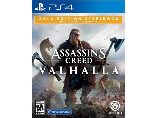 Assassin's Creed: Valhalla Gold SB Ed PS4
