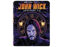 JOHN WICK 1-3 4K Blu-ray