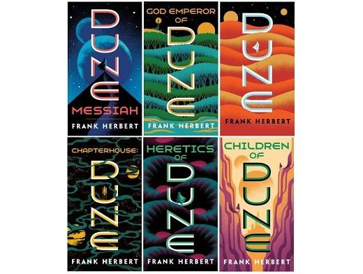 Complete Dune Series Set (ING) Libro