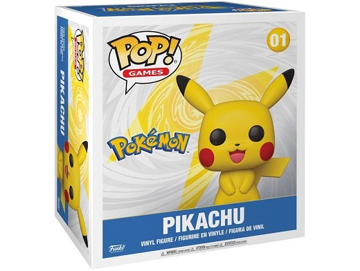 Figura Pop! Pokémon - Pikachu gigante 46 cms alto