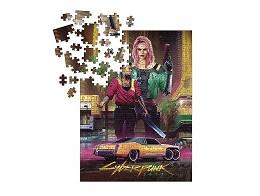 Cyberpunk 2077 Kitsch Puzzle