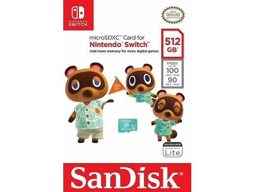 Tarjeta de Memoria SanDisk 512GB microSDXC NSW