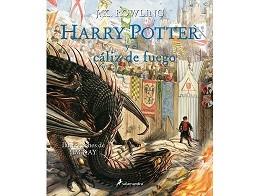 Harry Potter y el c?liz de fuego Ilust (ESP) Libro